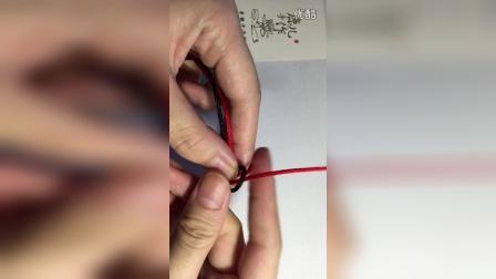 【鹿儿手作】金刚结 绳结编法教程 手工DIY手绳手链教程