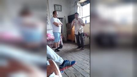 武式太极拳推手 潘存忠与拳友文明研究推手