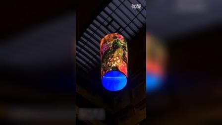led柱体透明屏