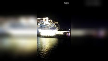 深圳海上世界音乐灯光喷泉表演