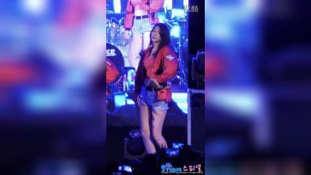 160921 항공대  AOA 설현 (Seolhyun) 직캠 굿럭