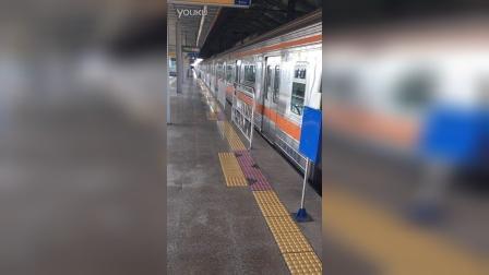 首尔地铁3号线开往梧琴方向3231号车出大谷站 서울지하천3호선 오금행 3231호 열차(대곡역)