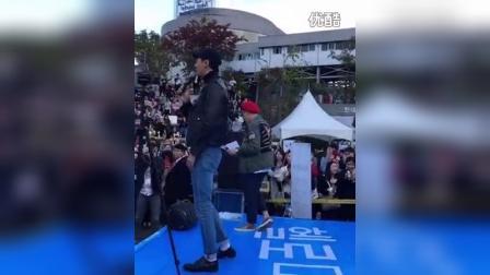 赵寅成2016 10 9HM活动饭拍 cr.valuabletn