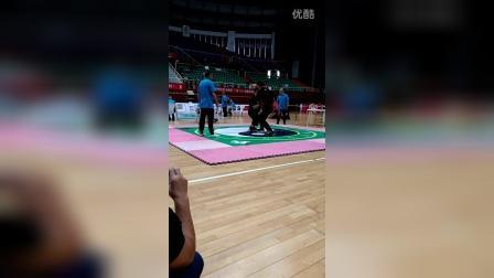 申晨希2016年浙江太极推手比赛(85公斤以上)
