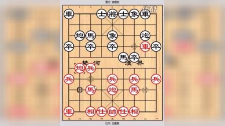 象棋中炮过河车对盘河马布局_2东北虎王嘉良的飞刀