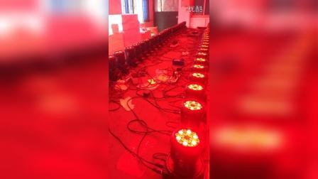 18颗LED摇头灯 18颗小摇头灯 迷你摇头灯 mini摇头灯 LED摇头染色灯