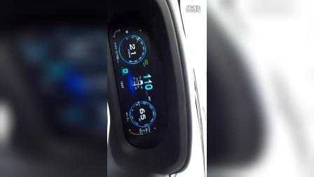 零下的京哈高速,比亚迪唐的能量回收不断变化
