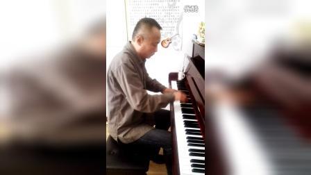 钢琴曲《同桌的你》