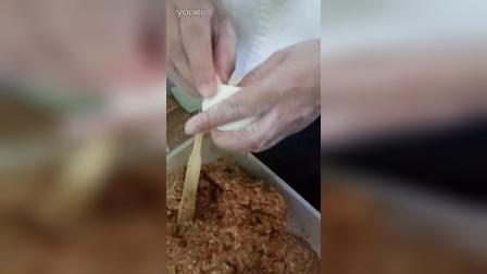 生煎包如何包,视频教程