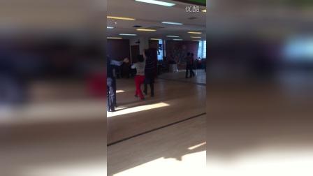 长寿社区学校交谊舞班—三步舞
