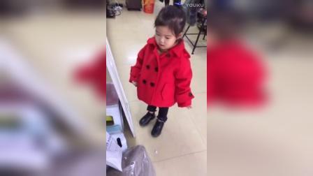 第一次穿大红袄