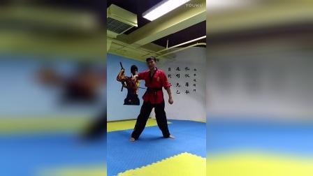 【双节棍套路教学】北京棍舞 初学者第二套 第二部分