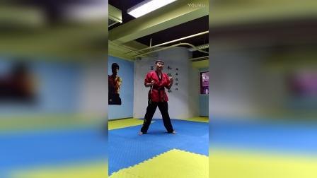 【双节棍套路教学】北京棍舞 初学者第二套 第一部分