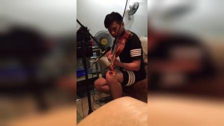 I won't give up-XDick Violin cover