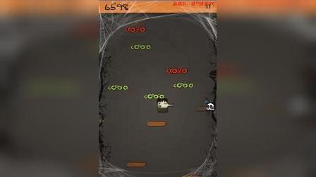 涂鸦跳跃-很早就有的一款精致的小游戏,上瘾哦(豌豆射手+触须怪?)