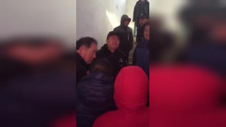 山东济南天桥区李庄村民,要求公开张目,主任锁不敢见