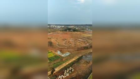 祁东玉泉湖施工建设中
