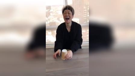 毛阿敏表演手滑搞笑视频