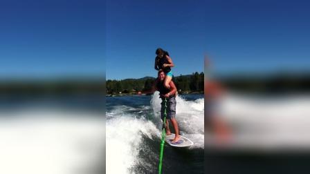 Surfing on shoulders