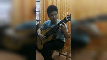 小蒋吉他 10弦古典吉他接受定制 阿汗不拉宫的回忆