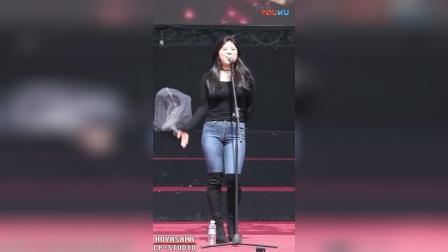[饭拍] YooJeong 180408 유정_高清