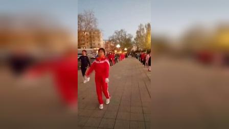 齐齐哈尔湖畔社区文化站炫舞-领舞-张凤琴