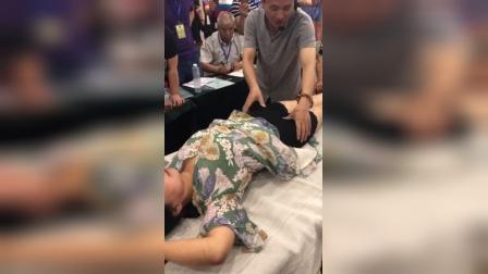 周仁鲁-女性痛经耻骨联合综合证手法针法