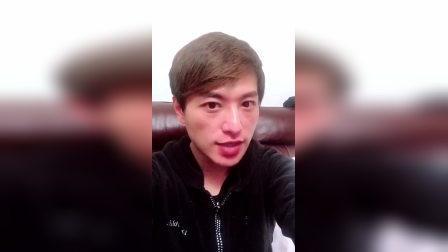 歌手张津涤祝福经纪人阿瑞演出越多越好