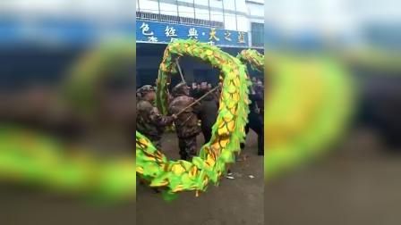 2019年蕲春界岭元宵舞龙