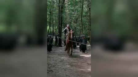 拍骑马被偷袭,演员摔下马
