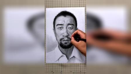 素描手绘王千源,你就说像不像?