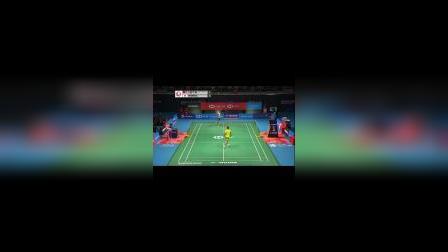 羽毛球比赛 桃田贤斗VS李宗伟 多拍比赛视频