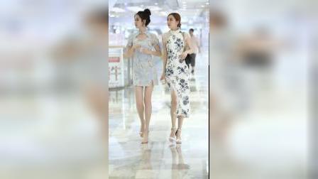 这样打扮的两个小姐姐,你敢说不心动?