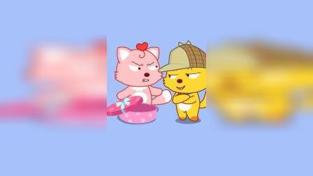 万圣节收集了好多糖果,但是宝宝的糖果被偷吃啦!谁是凶手!猫小帅搞笑小视频
