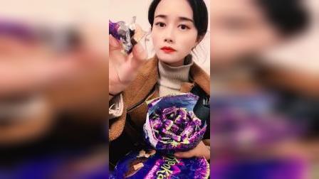 拆一箱紫皮糖,吃一次就爱上的糖果,我想应该没有人不喜欢吧