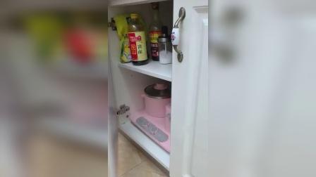 厨房灶台和抽屉都贴上这个,好看还容易打理