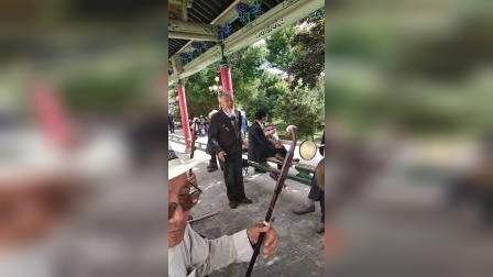 秦腔诸葛撑船83岁王老师演唱
