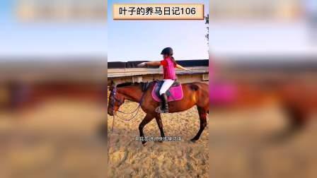 叶子的养马日记106-带孩子骑马