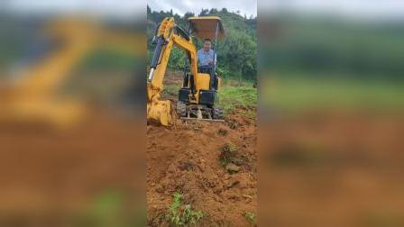 小型挖掘机果园农用