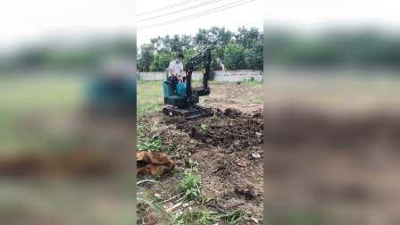 小型挖掘机开沟果园农用