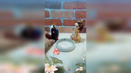宝宝益智玩具:皇后送给贝尔一个魔法套盘