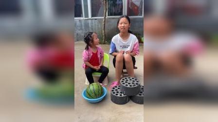少儿:和姐姐一起卖东西