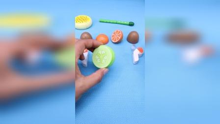蔬菜水果组合配对玩具