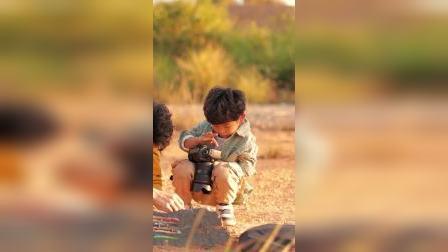 童年趣事:路边的石头加点料,拍出来的照片好看么