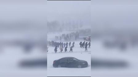直击!东北邀你看冬天第一场雪