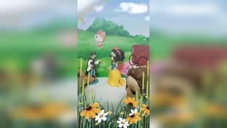 宝宝益智玩具:贝儿给王子和白雪送来亲手做的蛋糕