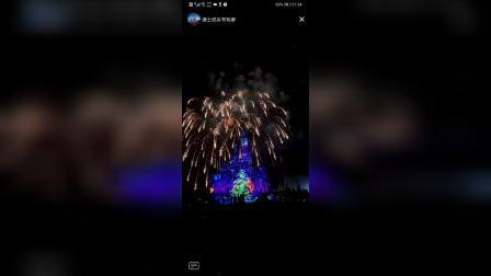 20201231上海迪士尼烟花
