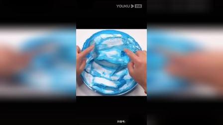 玩泥素材:冰山系解压视频,拿走记得吱一声,还要点一个小心心(๑ºั╰╯ºั๑)