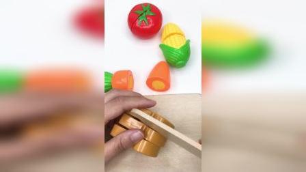 水果蔬菜一起来切切看