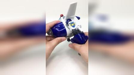 超级飞侠包警长变形飞机